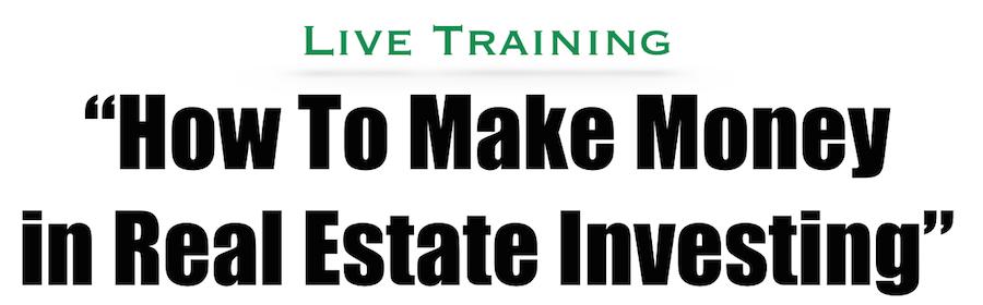 real estate investing seminars 2